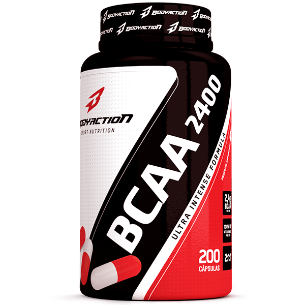 Bcaa 2400 200 Caps - Body Action