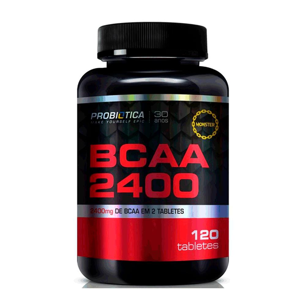 Bcaa 2400mg 120 Tabletes Millenium - Probiotica
