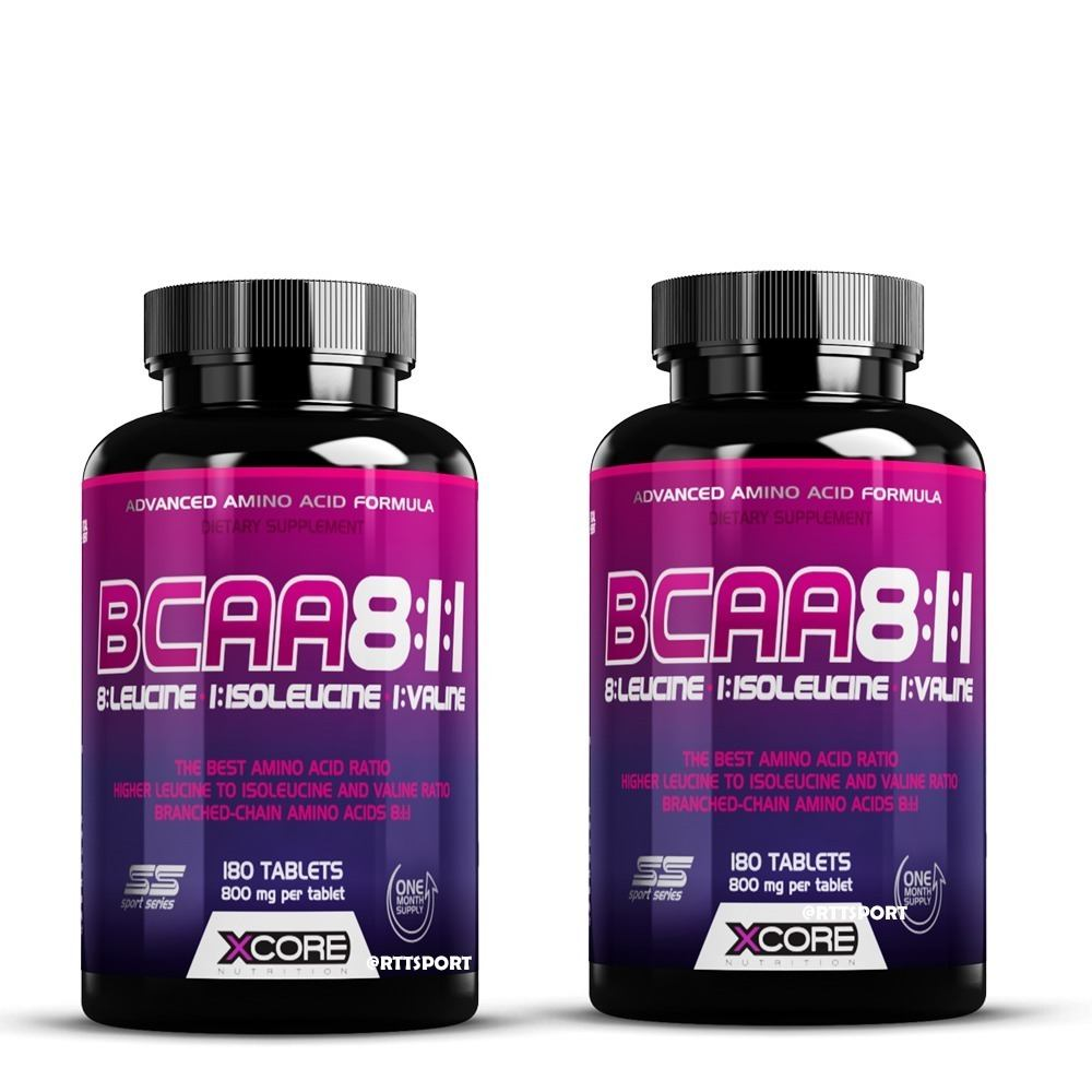 Bcaa 8:1:1 Complex Ss 180 Tab - Xcore Nutrition