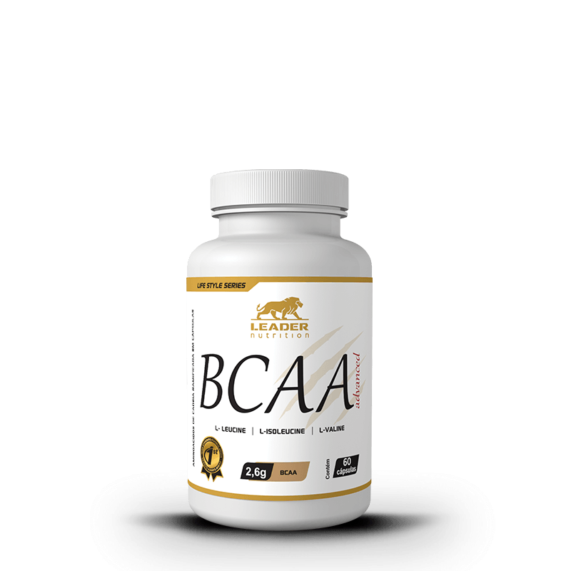 Bcaa Advanced 60 Caps Leader Nutrition