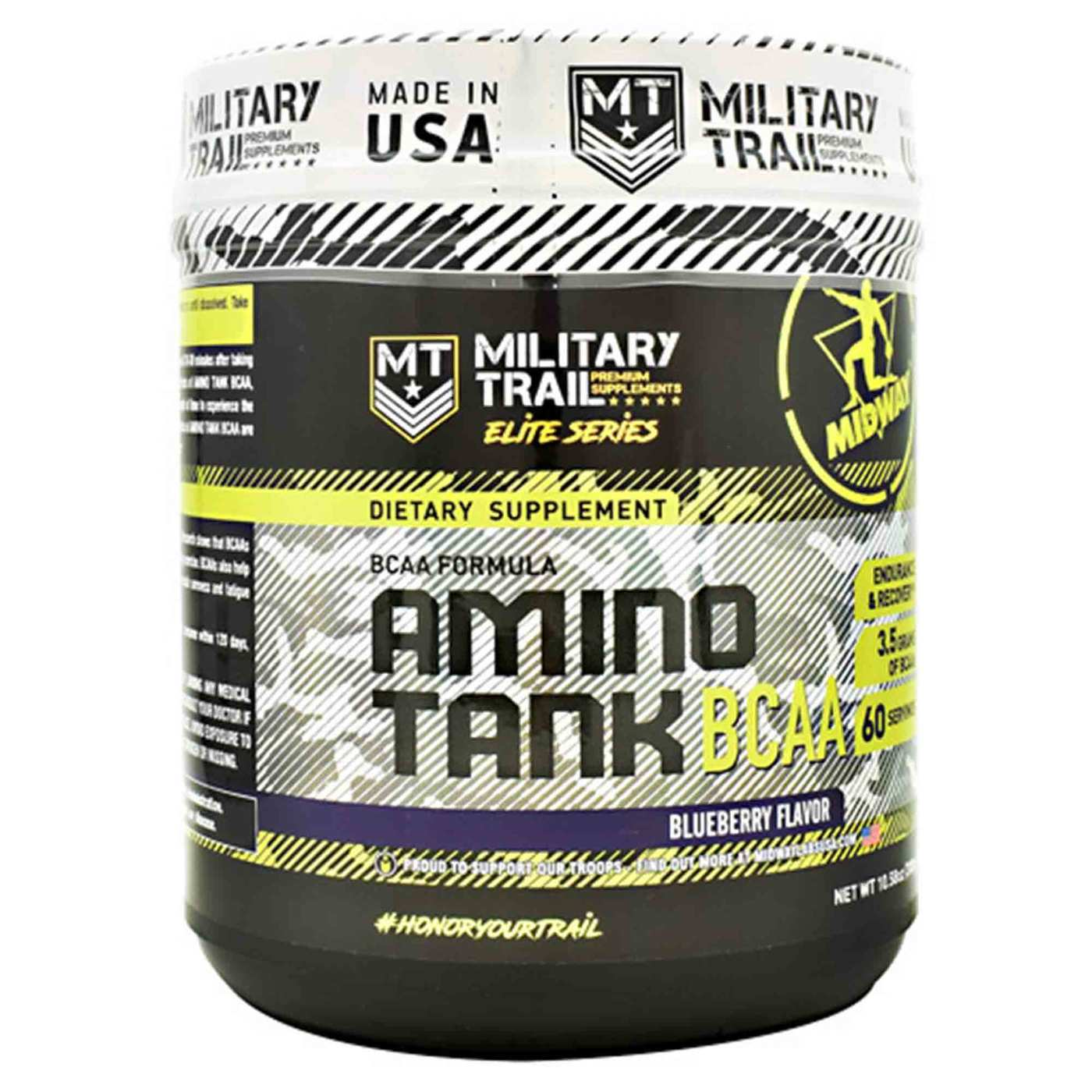 Bcaa Amino Tank 300G Blueberry Flavor Midway