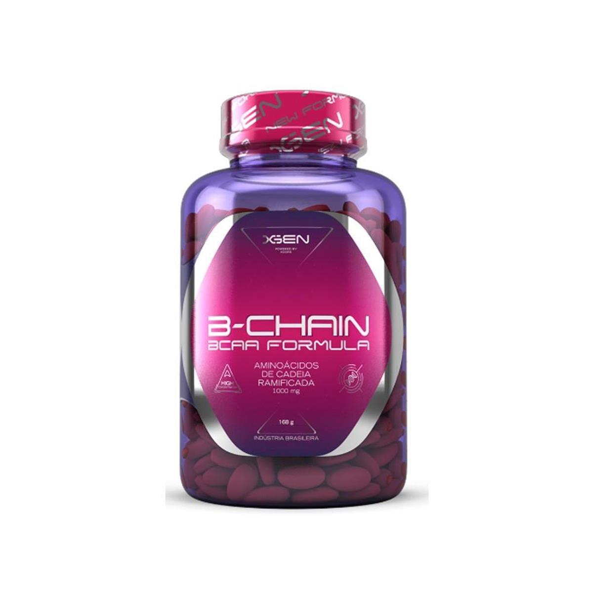 Bcaa B-Chain 1500Mg 60 Caps - Xgen Nutrition