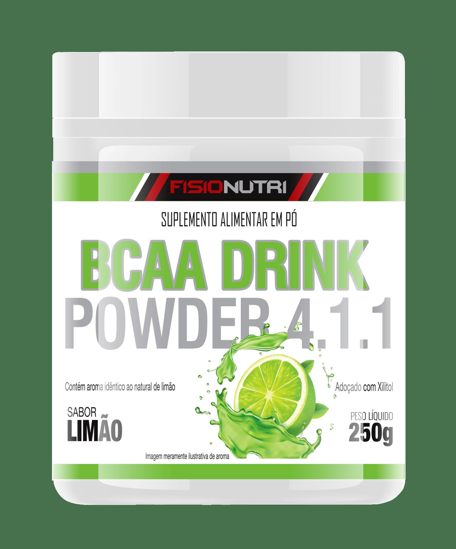 BCAA DRINK POWDER 4.1.1 EM PÓ SABOR LIMÃO