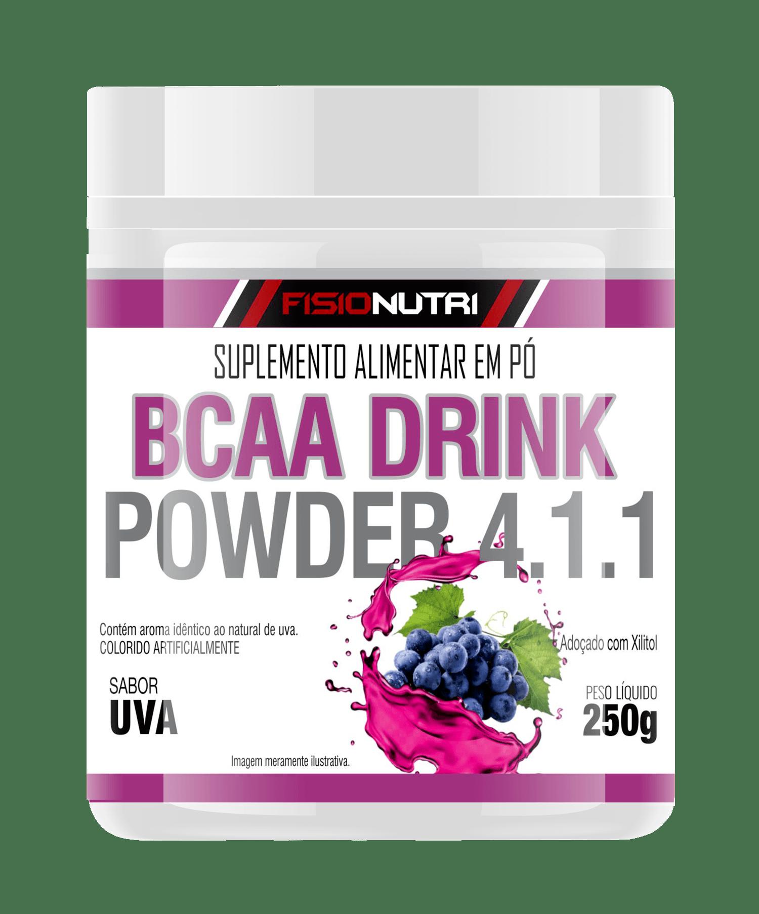 BCAA DRINK POWDER 4.1.1 EM PÓ SABOR UVA