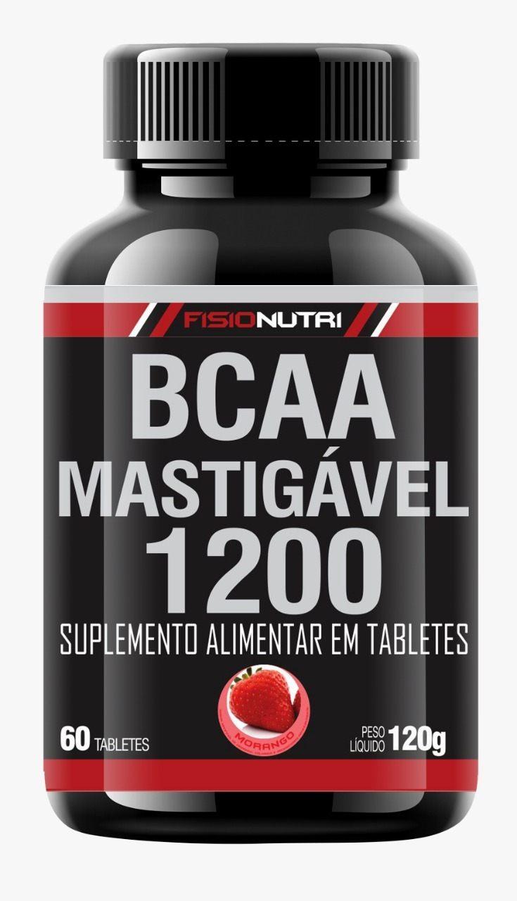 BCAA MASTIGAVEL 1200 - SABOR MORANGO