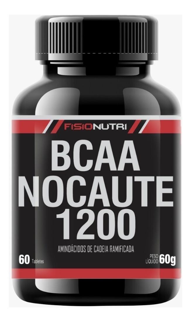 BCAA NOCAUTE 1200 SUPLEMENTO ALIMENTAR EM TABLETES