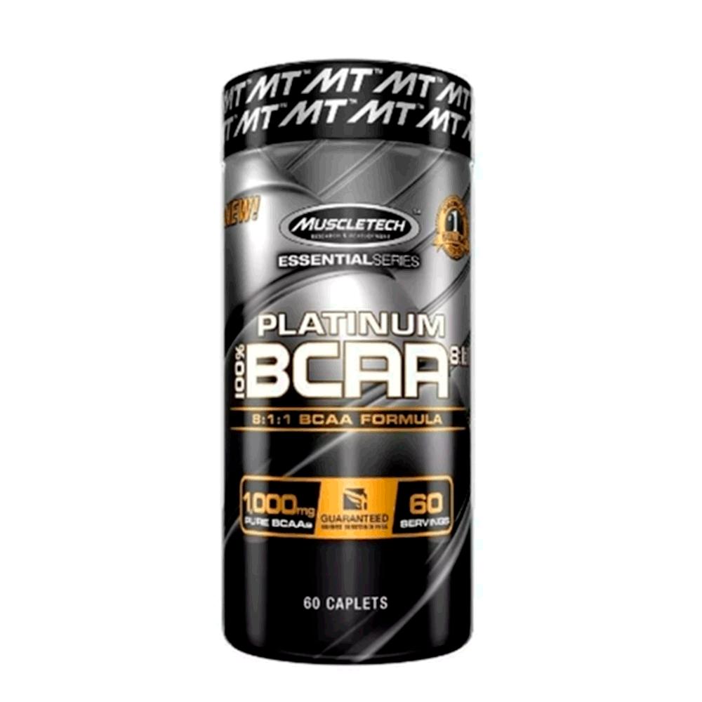 Bcaa Platinum 100% 8.1.1 60 Caplets - Muscletech