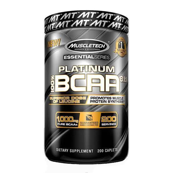 Bcaa Platinum 8:1:1 200 Caps Muscletech