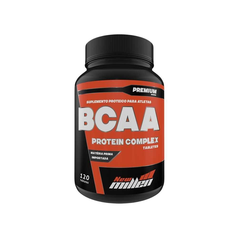 Bcaa Protein Complex 120Tabs - New Millen