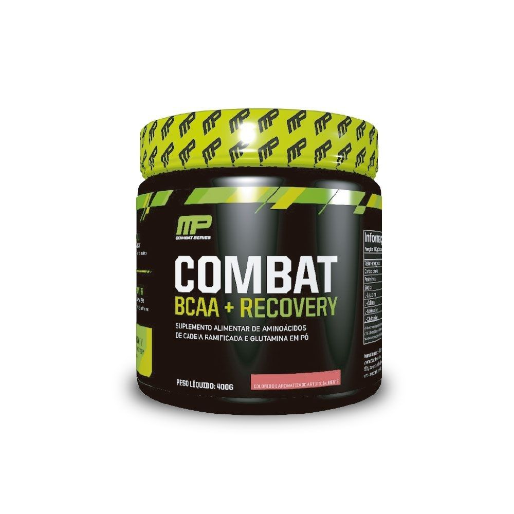 Bcaa Recovery Combat 400Gr Ponche De Frutas Musclepharm