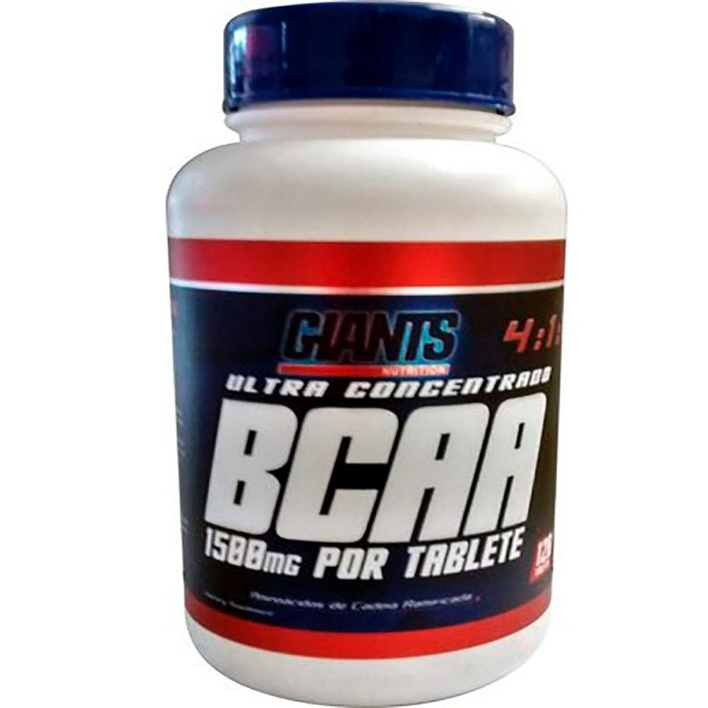 Bcaa Ultra 4:1:1 1500Mg Por Tablete 120Tab  Giants Nutrition