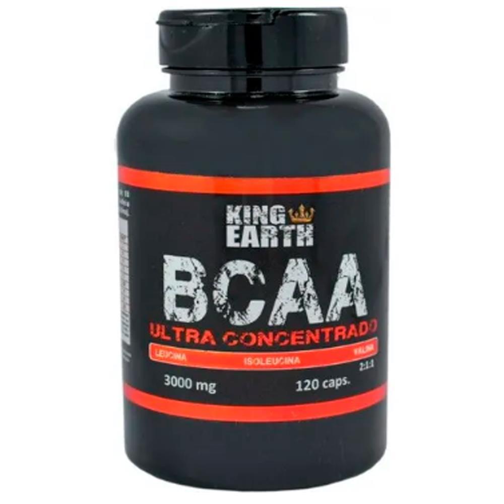 BCAA Ultra Concentrado 2.1.1 3.000mg 120 Cáps