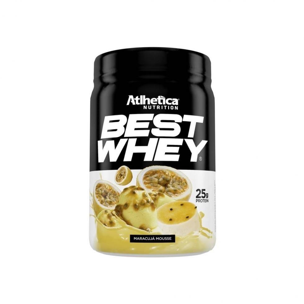Best Whey (450g)-Mousse de Maracujá-Atlhetica Nutrition
