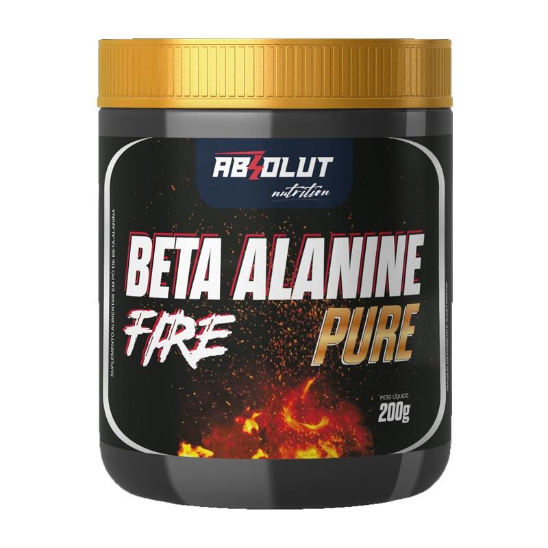 Beta Alanine Alanina Absolut Nutrition 100% PURA 2000MG - 200g 100 Doses Excelete qualidade