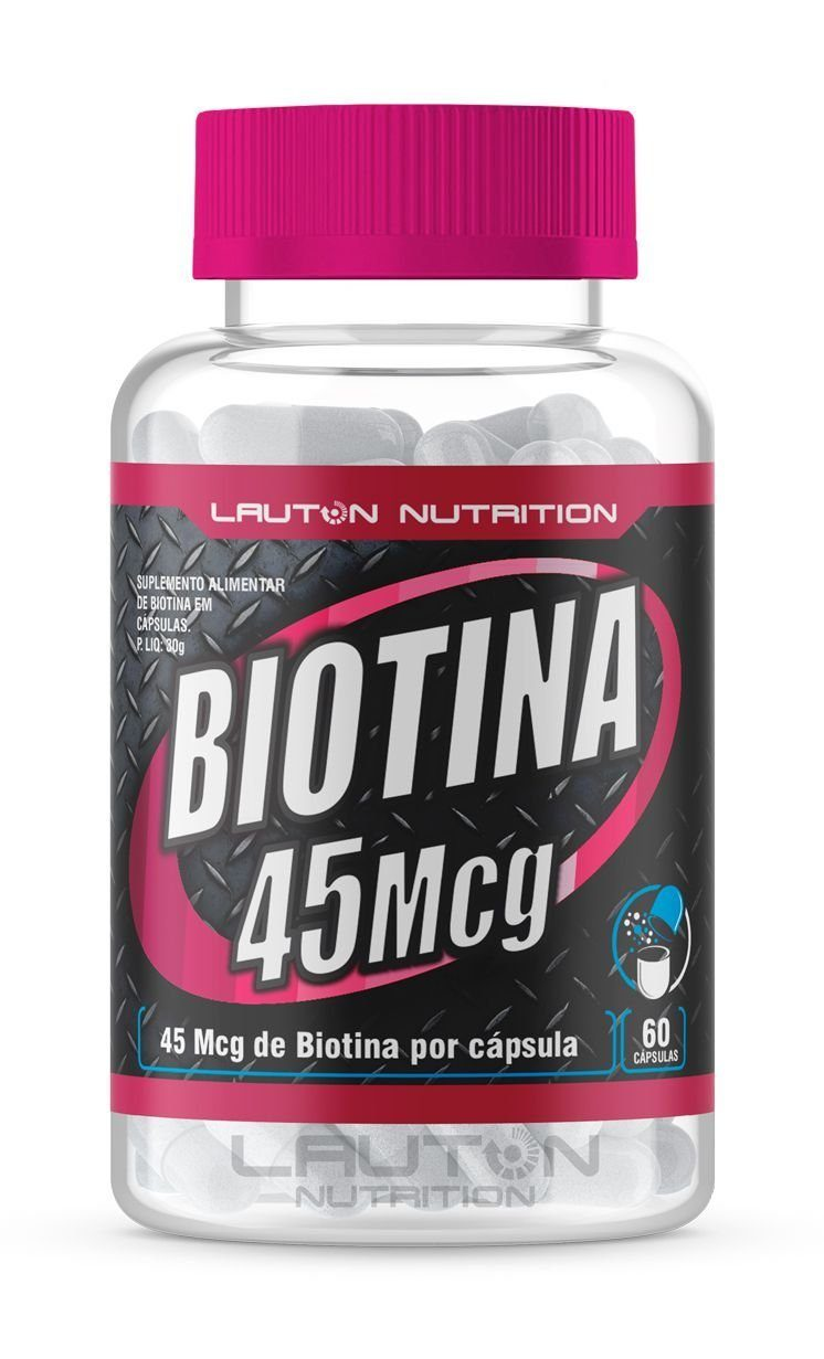 Biotina 120 Caps 45Mcg Lauton Nutrition