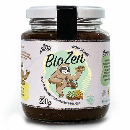 Biozen Biomassa de Banana com Cacau 230g Zenfoods