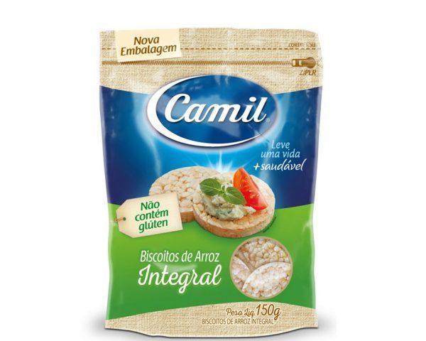 Biscoito de Arroz Integral – Camil – 150g