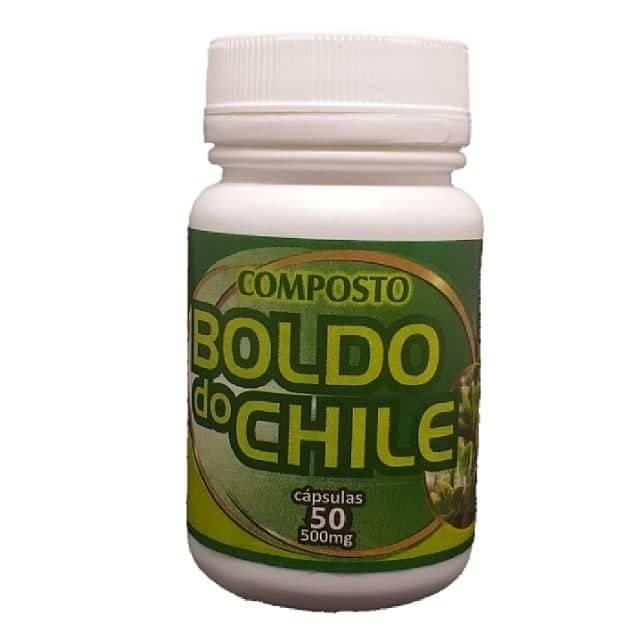 Boldo do chile - 50 Cápsulas