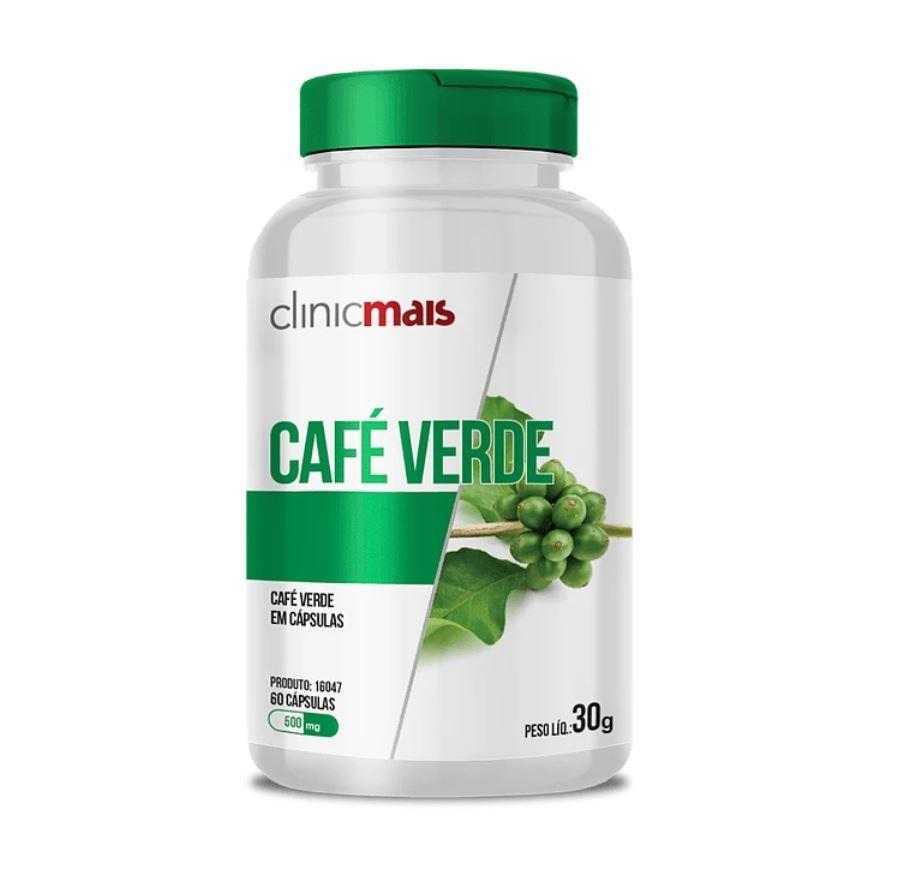 Café Verde 60 Cápsulas 500mg
