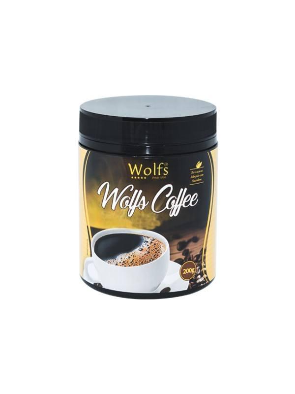 Café Wolfs Termogênico 200g Wolfs Coffee Tradicional Emagrece