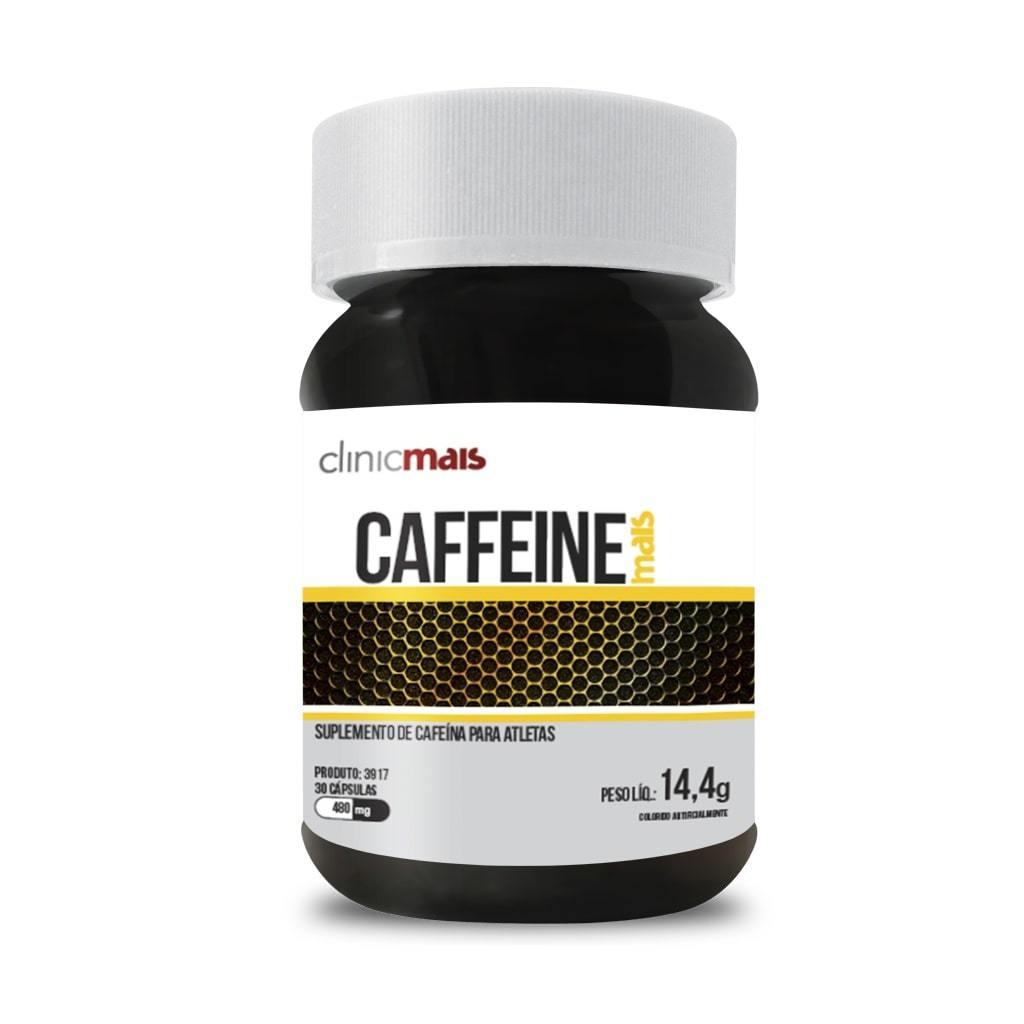 Caffeine Mais 30 Cápsulas 480mg