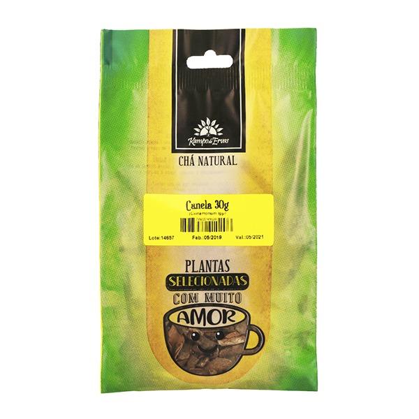 Canela pau em lascas PURA 100% Natural 30g Kampo de Ervas