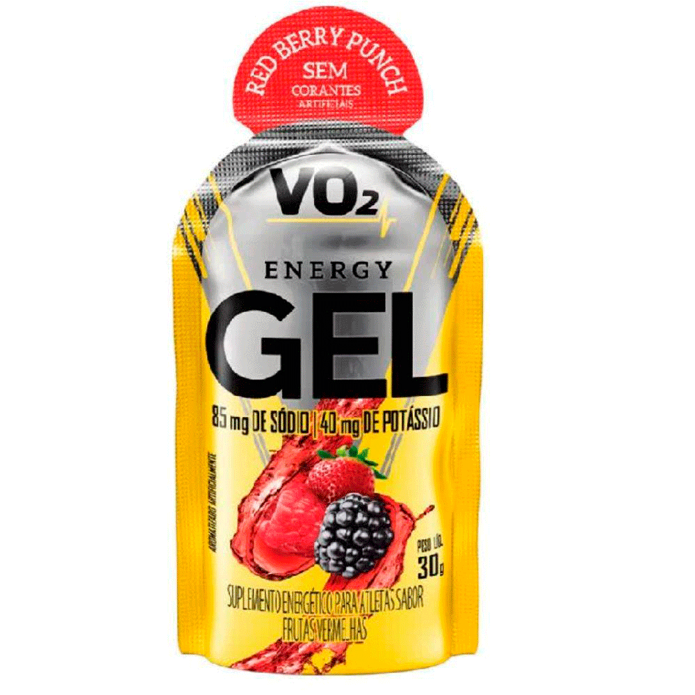 Carb Up Sache Energy Gel 30G Frutas Vermelhas Vo2