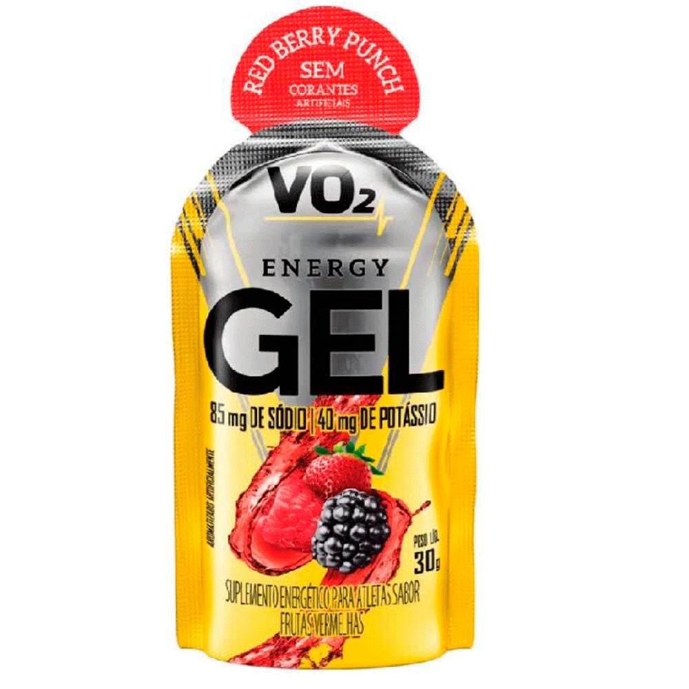 Carb Up Sache Energy Gel 30G Frutas Vermelhas Vo2