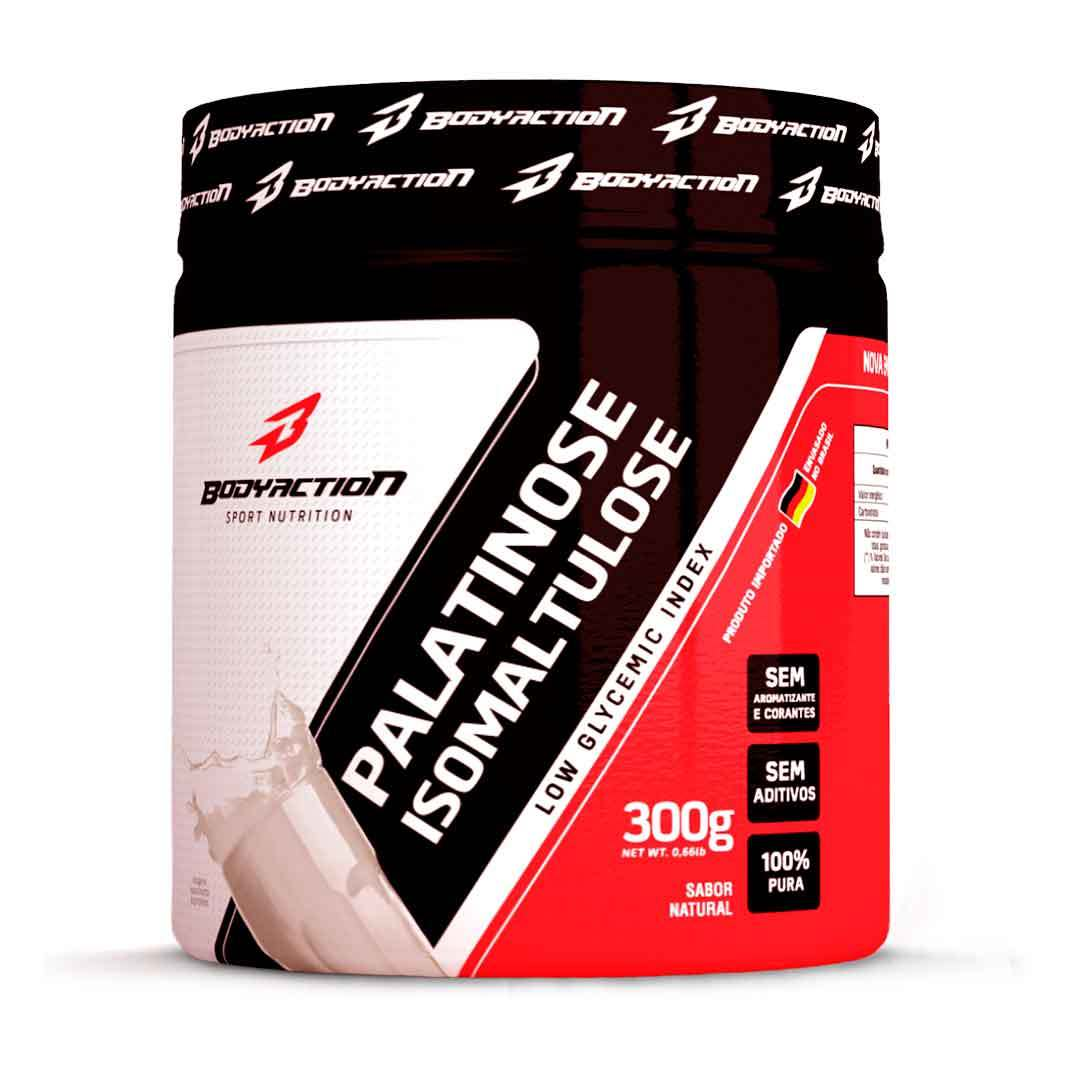 Carboidrato Palatinose 300Gr Body Action