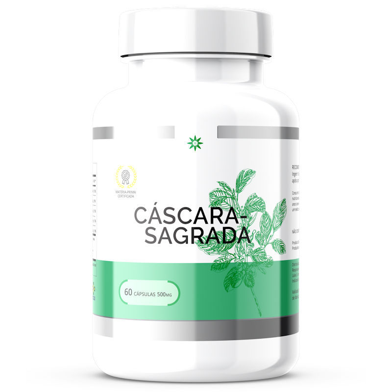 Cáscara Sagrada 500mg 60 Cápsulas