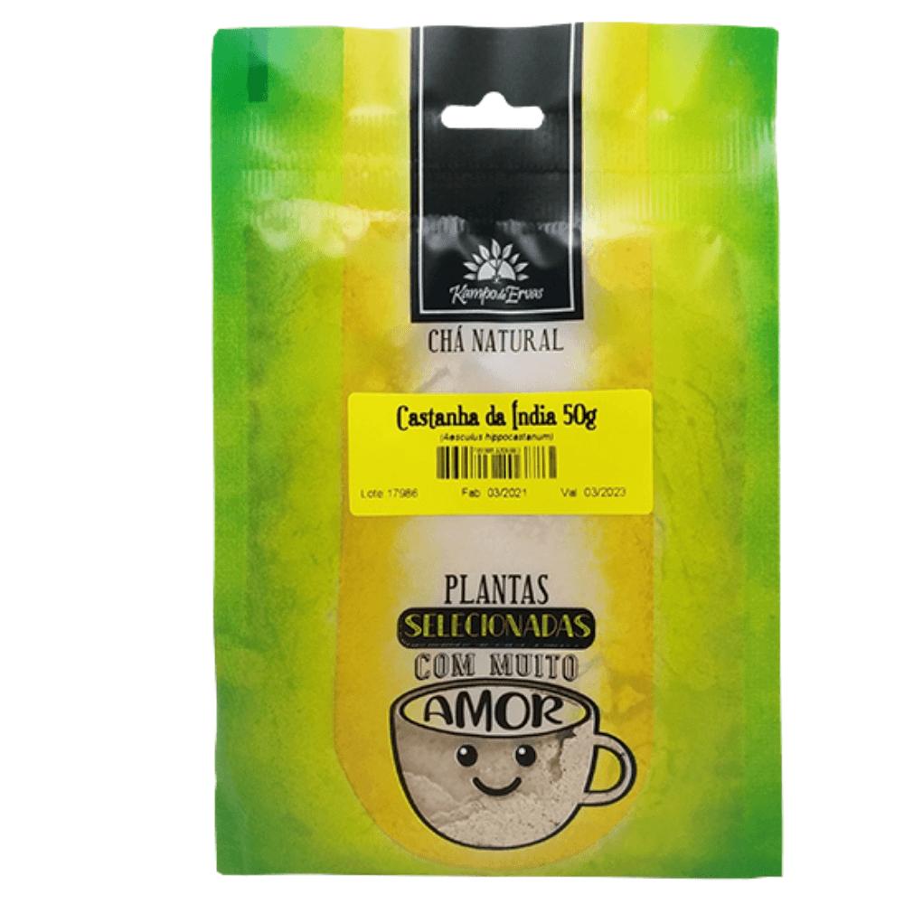 Castanha da Índia em Pó Chá Natural Kampo de Ervas 50g