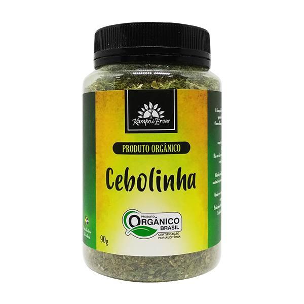 Cebolinha PURA desidratada Potão de 90 g Orgânica e Certific
