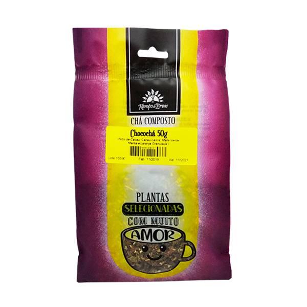 Chá Chocochá 100 % natural Cacau, Laranja, Menta e Mate 50 g