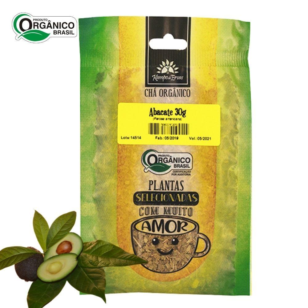 Abacate Chá Orgânico só Folhas  Kampo de Ervas 30 gramas