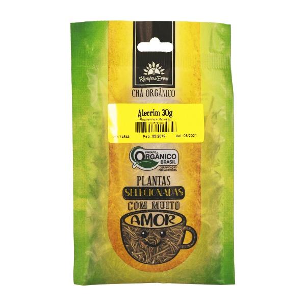 Alecrim Orgânico 100 % Folhas 30 g Kampo de Ervas