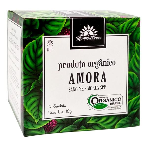 Amora Orgânica Chá Certificado 10 sachês Kampo de Ervas