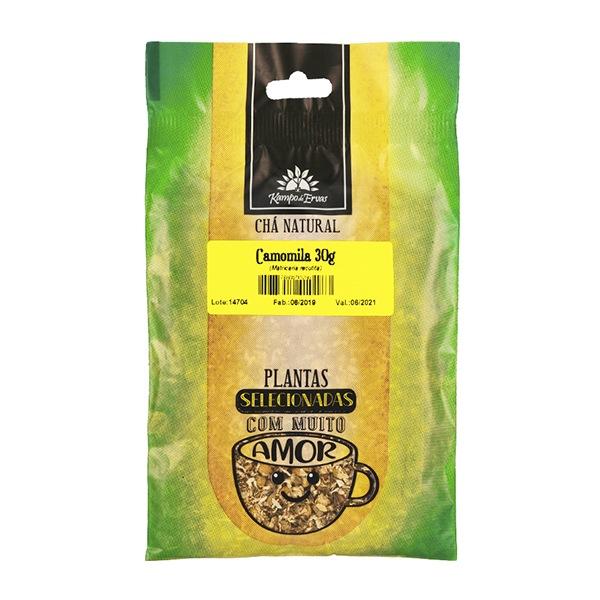 Chá de Camomila PURA 100 % Natural 30 g