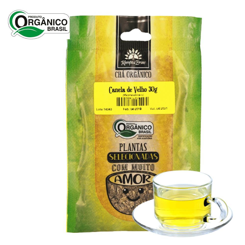 Chá de Canela de Velho 100% Folhas 30g Orgânica e Certific
