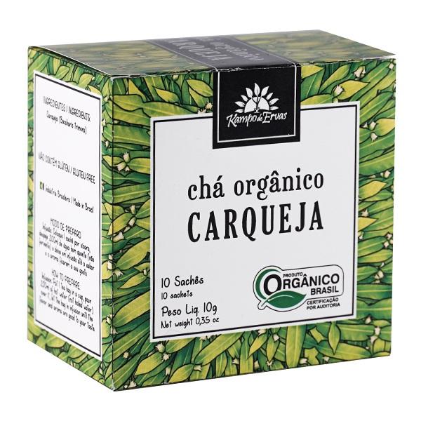 Chá de Carqueja PURA - 10 sachês - Orgânico e Certificado