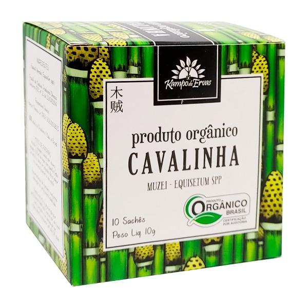 Chá de Cavalinha PURA - 10 sachês - Orgânico e Certificado