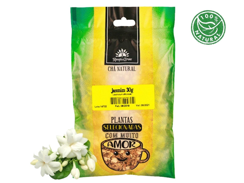 Jasmim Chá 100 % Natural só Flores Kampo de Ervas 30 gramas