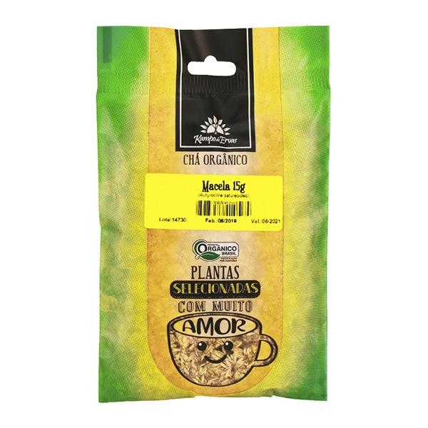 Macela Chá Orgânico Certif 100 % Flores 15 g Kampo de Ervas