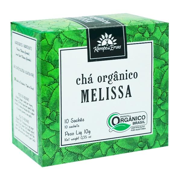 Melissa Chá Orgânico e Certificado 10 sachês