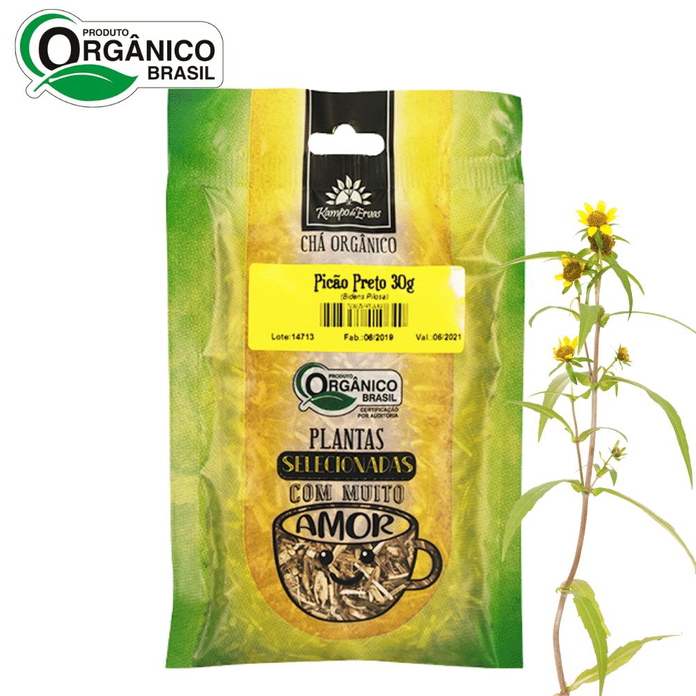 Chá de Picão Preto 100% Folhas 30g Orgânica e Certificado