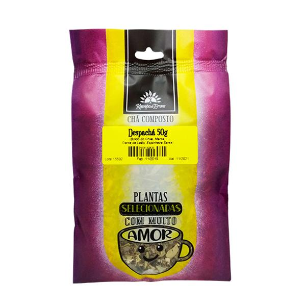 Chá Despachá 100 % ervas naturais - menos empachamento 50 g