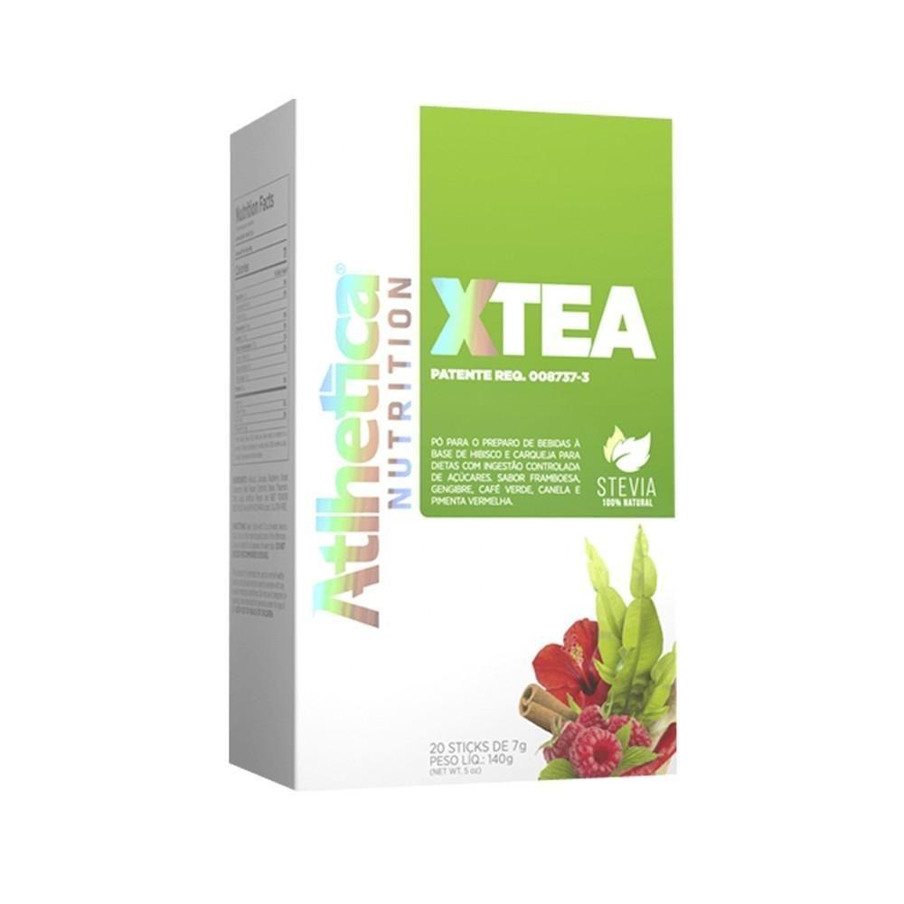 Chá Emagrecedor X-Tea 20 Sticks Athletica Nutrition