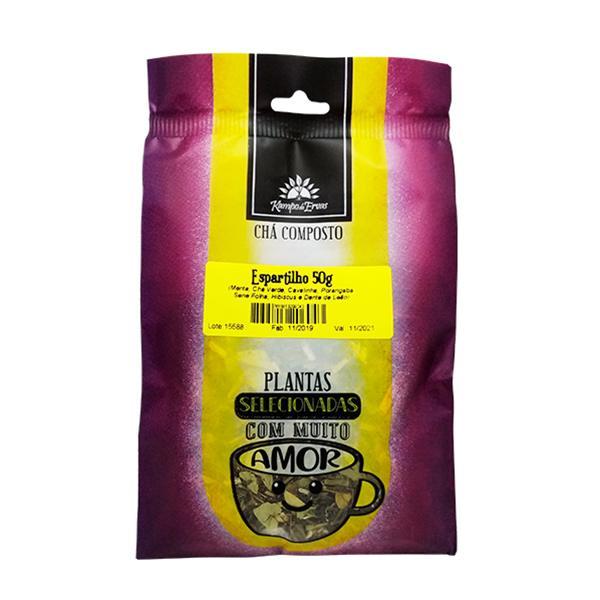 Chá Espartilho 100 % ervas naturais - menos é mais 50 g