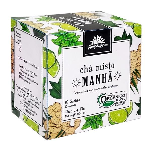 Harmonia Manhã Chá Orgânico Frescor Menta Gengibre 10 sachês
