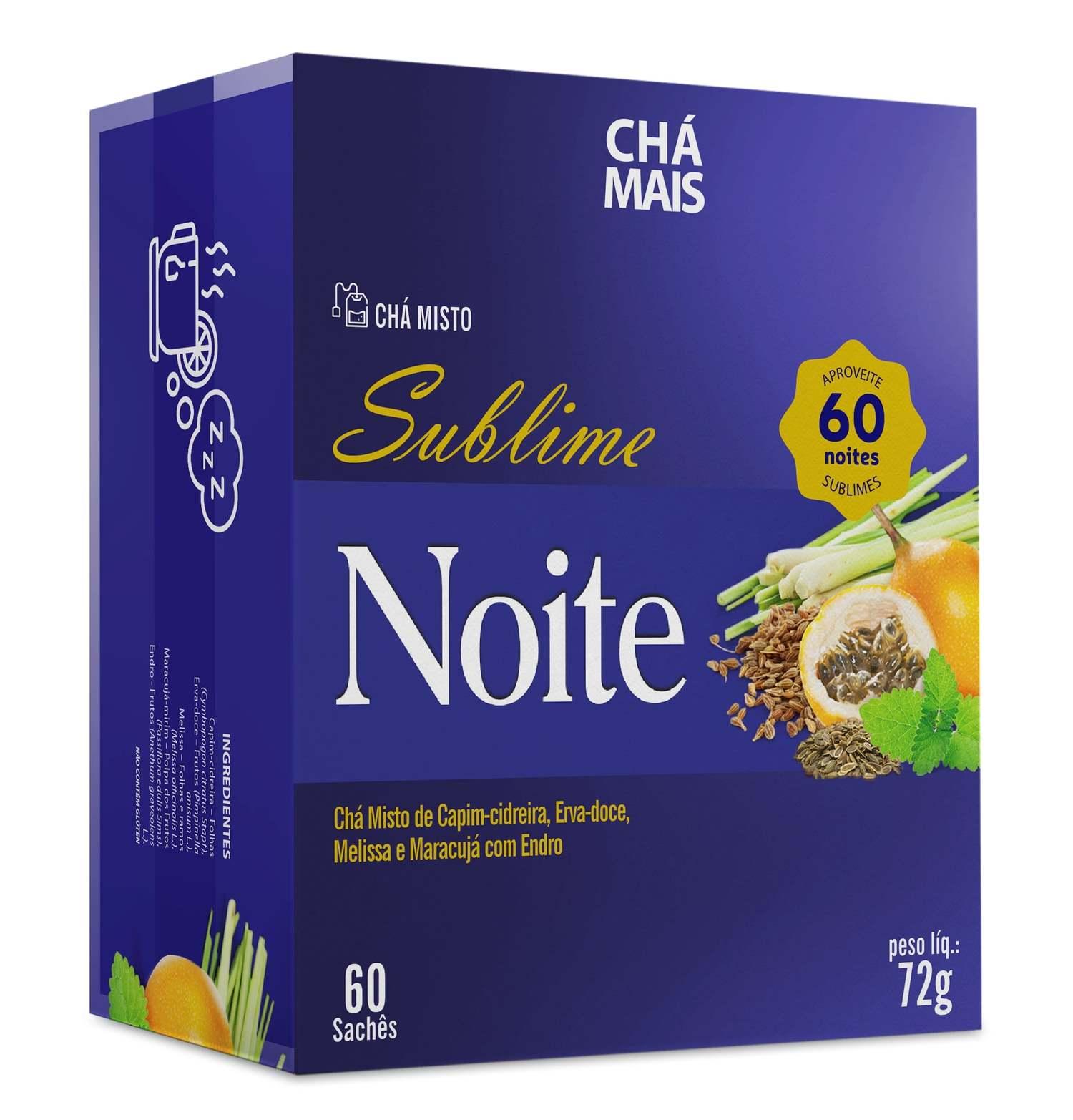 Chá Misto Sublime Noite 60 Sachês
