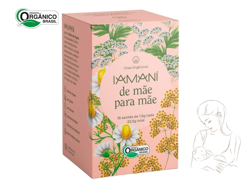 Chá Orgânico  Iamaní Funcional Amamentação De Mãe para Mãe